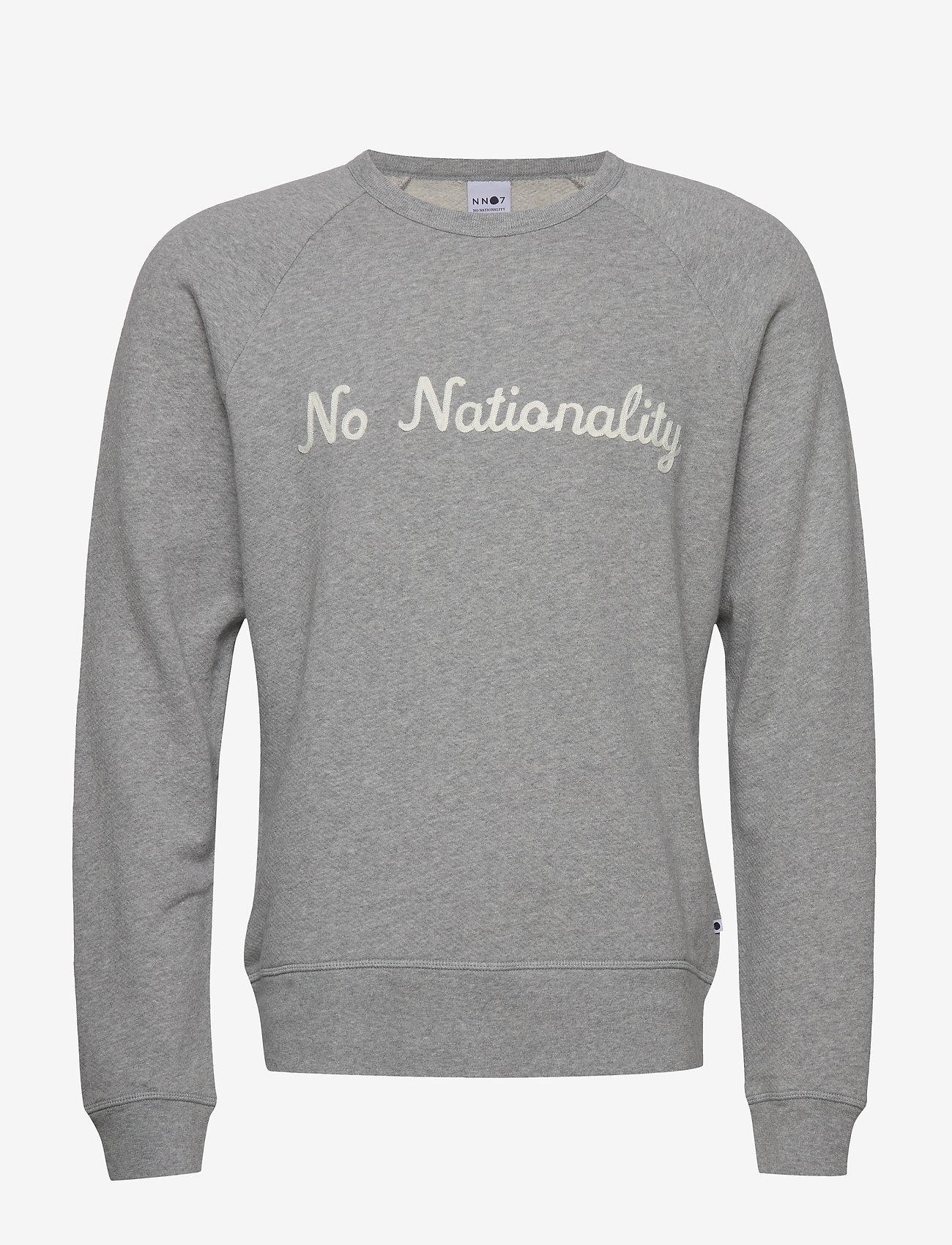 NN07 - Robin Sweatshirt 3444 - basic sweatshirts - grey mel. - 0