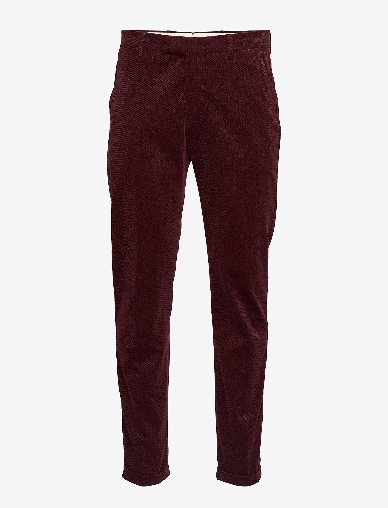 NN07 - Scott 1427 L34 - suitbukser - burgundy red - 0