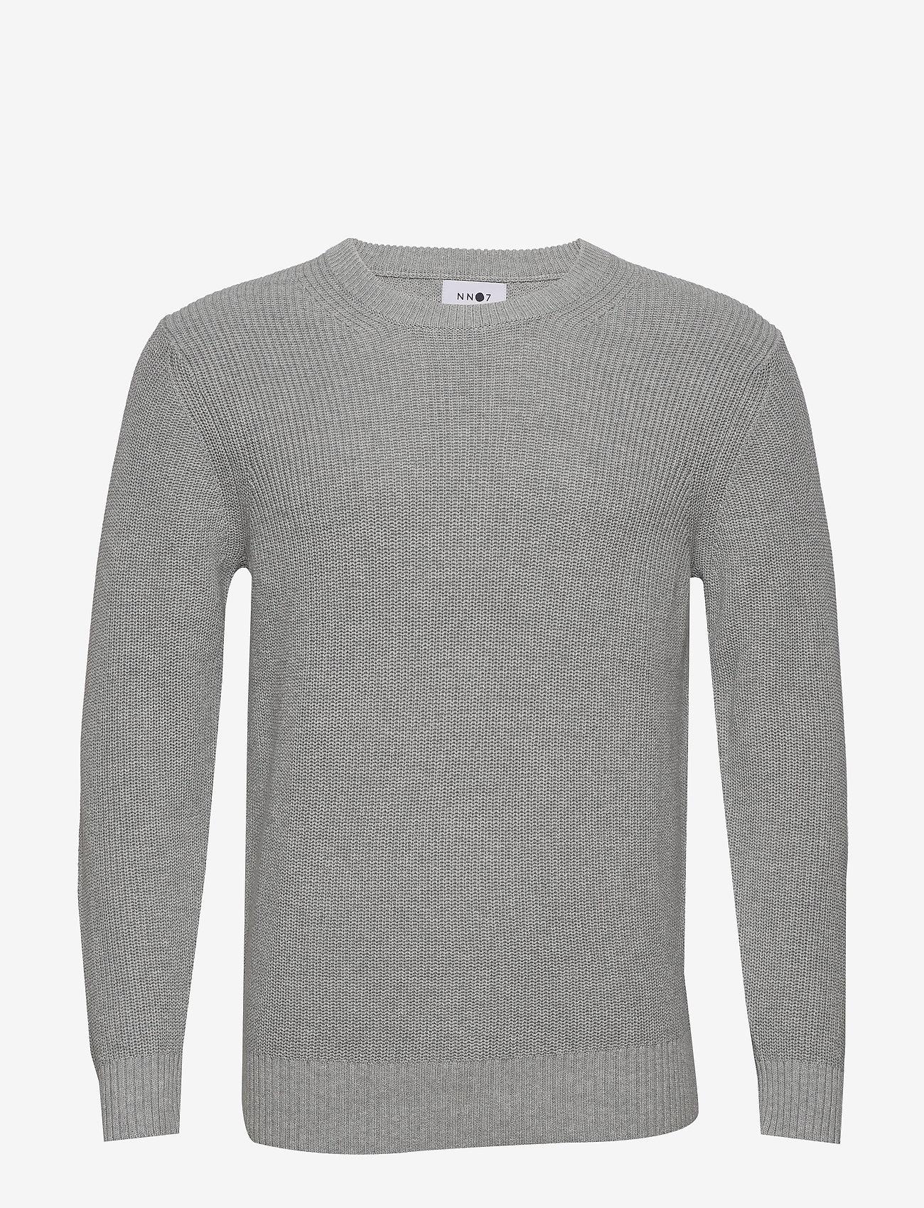 NN07 - Knut 6376 - tricots basiques - medium grey melange - 0