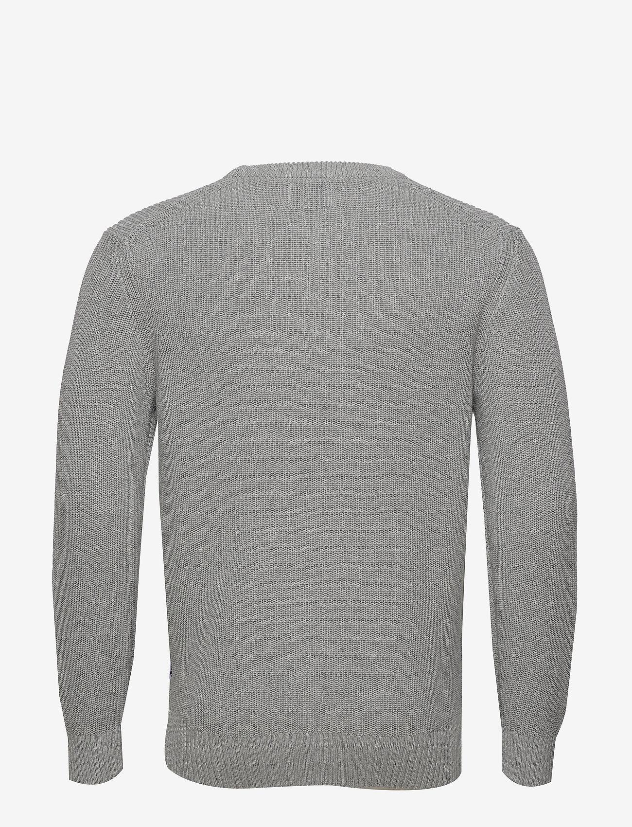 NN07 - Knut 6376 - tricots basiques - medium grey melange - 1
