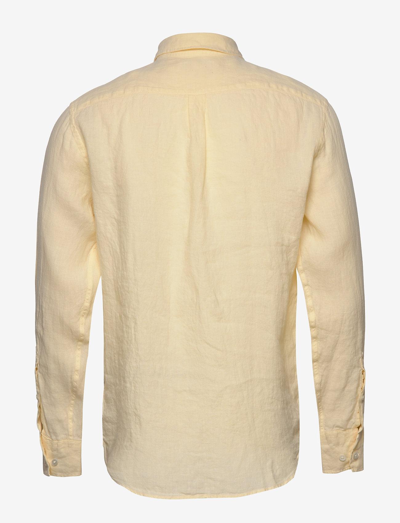 NN07 - Levon Shirt 5706 - peruspaitoja - pale sun - 1