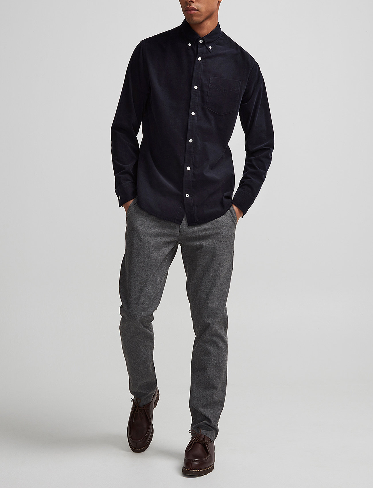 NN07 - Karl 1393 - pantalons chino - grey