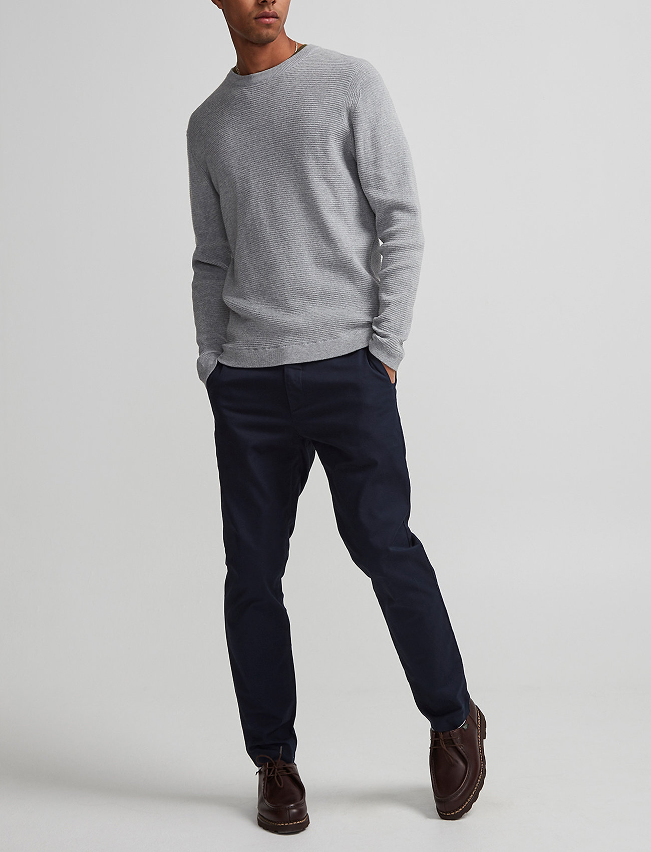 NN07 - Theo 1500 L30 - chinos - navy blue - 0