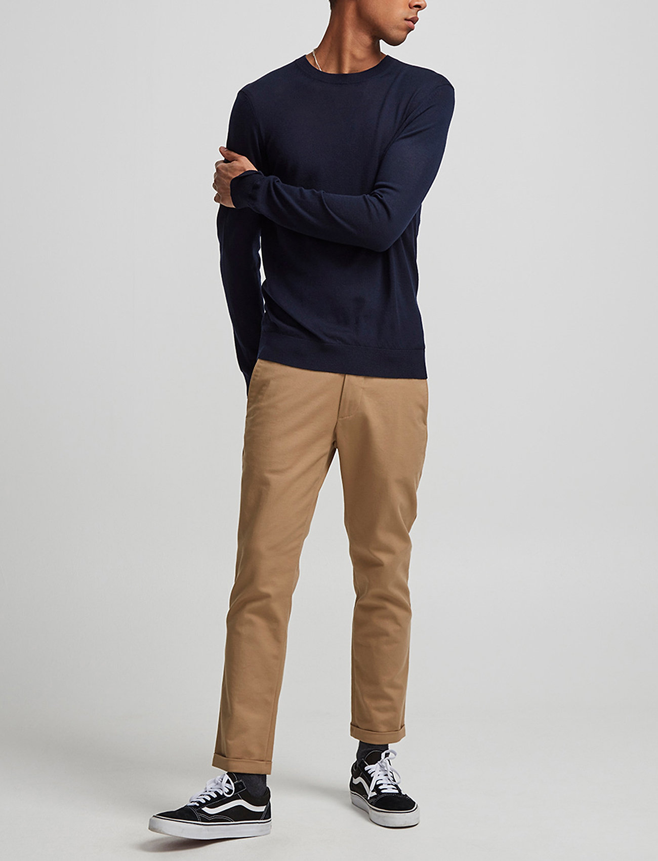 NN07 - Ted 6120 - basic knitwear - navy blue
