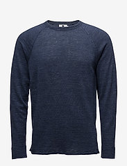 NN07 - Casper 6201 - knitted round necks - navy melange - 0