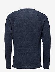 NN07 - Casper 6201 - knitted round necks - navy melange - 1