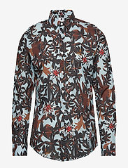 NN07 - Morgan 5118 - business skjortor - l. blue print - 0