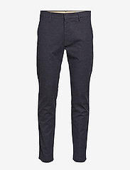 NN07 - Theo 1138 - pantalons habillés - navy blue - 0