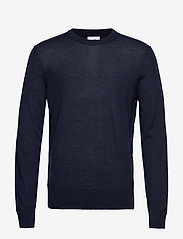 NN07 - Ted 6120 - basic knitwear - navy blue - 1