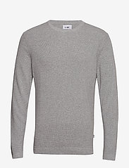 NN07 - Julian 6194 - basic knitwear - medium grey melange - 1