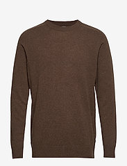 NN07 - Edward 6333 - basic knitwear - brown melange - 1