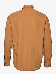NN07 - Deon Shirt 5161 - peruspaitoja - mustard - 1