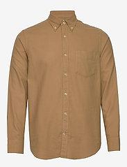 NN07 - Levon Shirt 5159 - peruspaitoja - camel - 0