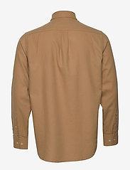 NN07 - Levon Shirt 5159 - peruspaitoja - camel - 1