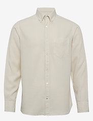 NN07 - Levon Shirt 5029 - peruspaitoja - vanilla - 0