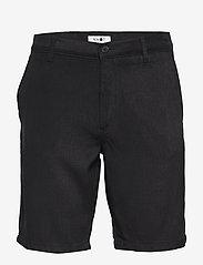 NN07 - Crown Shorts 1363 - short chino - black - 0