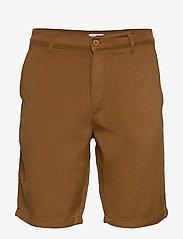 NN07 - Crown Shorts 1363 - short chino - canela brown - 0