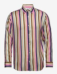 NN07 - Errico Shirt 5164 - casual - multi stripe - 1