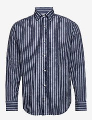 NN07 - Errico Shirt 5212 - avslappede skjorter - blue stripe - 0