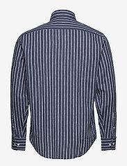 NN07 - Errico Shirt 5212 - avslappede skjorter - blue stripe - 1