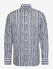 NN07 - Errico Shirt 5212 - casual - navy stripe - 0