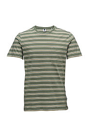 Barry Stripe Tee 3338 - MOSS