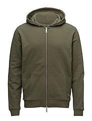 Davide zip hoodie 3355 - MOSS
