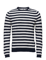 Charles 6277 - NAVY STRIPE