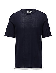 Cotton Short Sleeve 6279 - NAVY BLUE