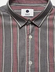 NN07 - Falko 5051 - avslappede skjorter - navy stripe - 2