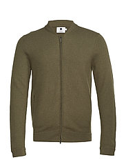 Jake boiled wool 6209 - ARMY