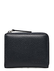 Half Zip Wallet 9107 - NAVY BLUE