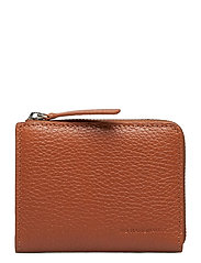 Half Zip Wallet 9107 - TAN