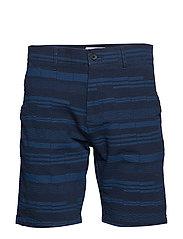 Crown Shorts 1369 - NAVY PRINT