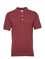 Short sleeve Polo 6274 - RED SLATE