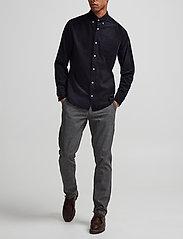NN07 - Karl 1393 - pantalons chino - grey - 0