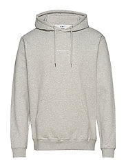 Barrow Printed Hoodie 3385 - LIGHT GREY  MELANGE