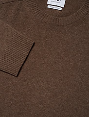 NN07 - Edward 6333 - basic knitwear - brown melange - 3