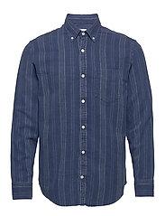 Levon Shirt 5139 - INDIGO STRIPE