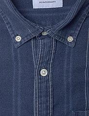 NN07 - Levon Shirt 5139 - casual - indigo stripe - 2