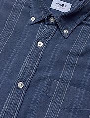 NN07 - Levon Shirt 5139 - casual - indigo stripe - 3