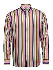Errico Shirt 5164 - MULTI STRIPE