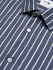 NN07 - Errico Shirt 5212 - avslappede skjorter - blue stripe - 2