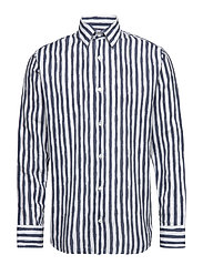 Errico Shirt 5212 - NAVY STRIPE