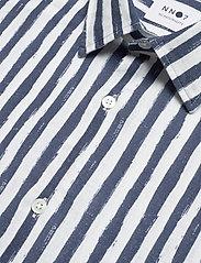 NN07 - Errico Shirt 5212 - casual - navy stripe - 2
