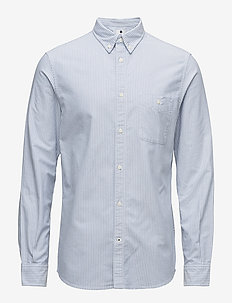 New Derek 5677 - business shirts - blue stripe