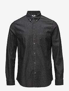 Falk 5705 - denimskjorter - dark grey