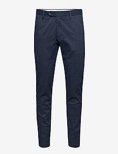 New Theo 1206 - pantalons habillés - navy blue