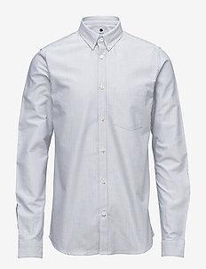 Sixten 5910 - chemises basiques - blue stripe