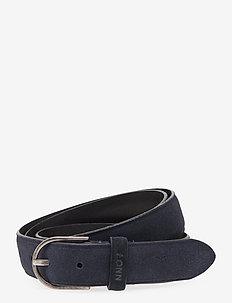 Belt Six 9104 - belts - navy blue